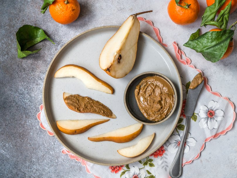 pears and nut butter