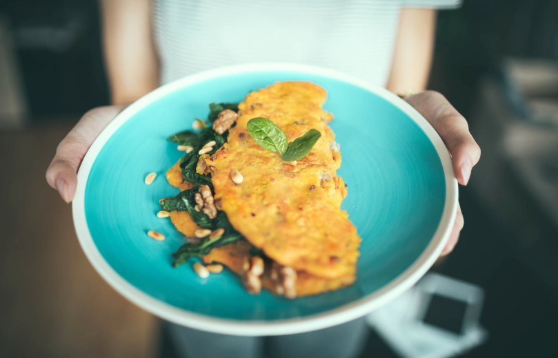 omelet on a plate